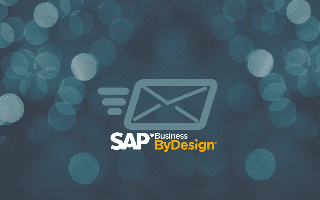 How to Email Reports in SAP Business ByDesign Using the Broadcasting Feature