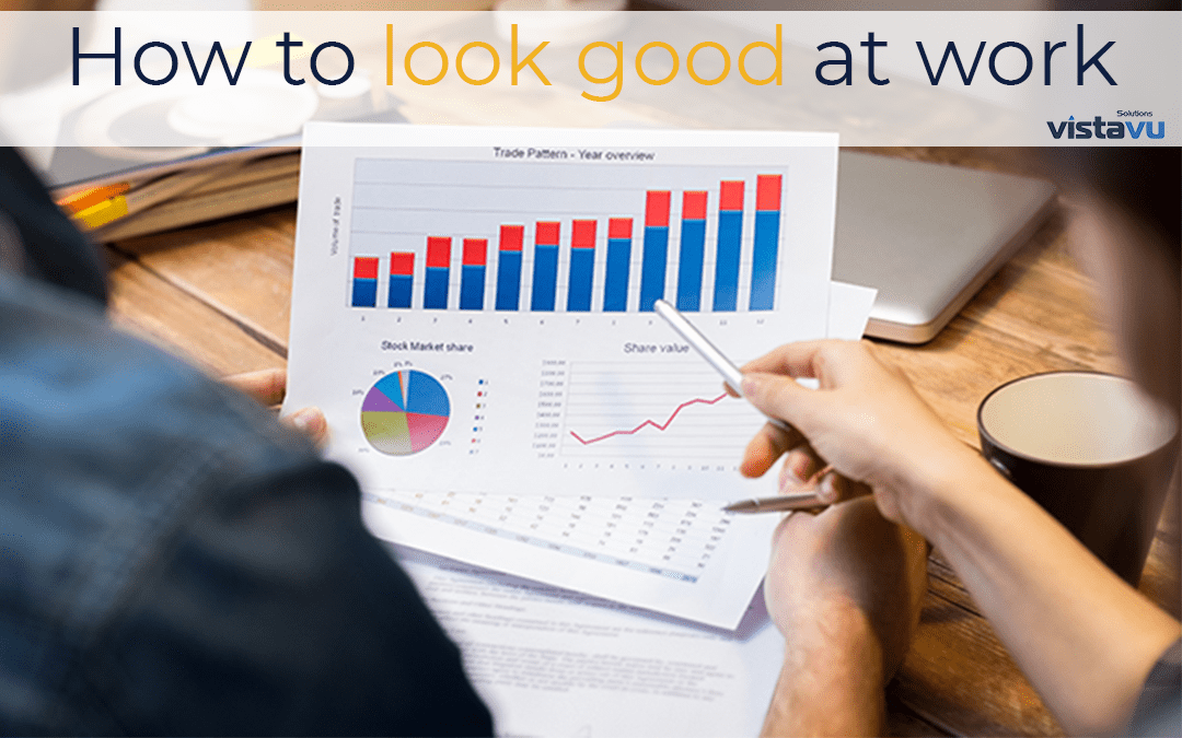 How to Look Good at Work blog image