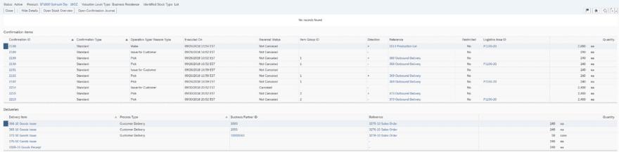 SAP Business byDesign Lot tracking pt 2