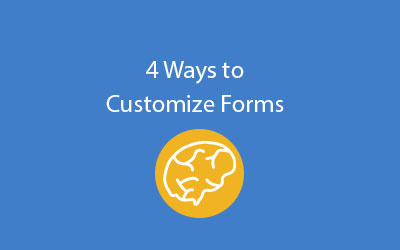 SAP Business ByDesign 4 ways to customize forms