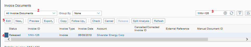 Reprint an Invoice in SAP Business ByDesign - p2