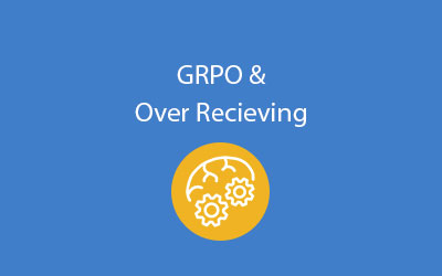 SAP Business One GRPO and over recieving