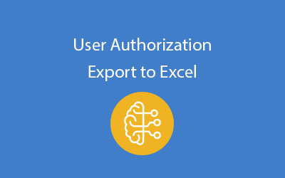 SAP Business One user authorizations