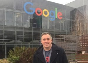 VistaVu Solutions CEO Jory Lamb at Google