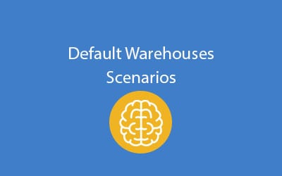 SAP Business One: Default Warehouses Scenarios