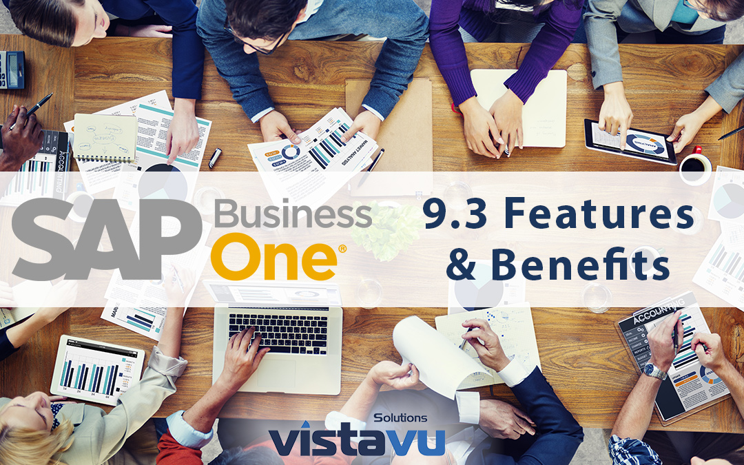 Highlights from Business One 9.3