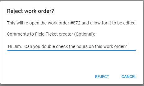 work order - fieldvu