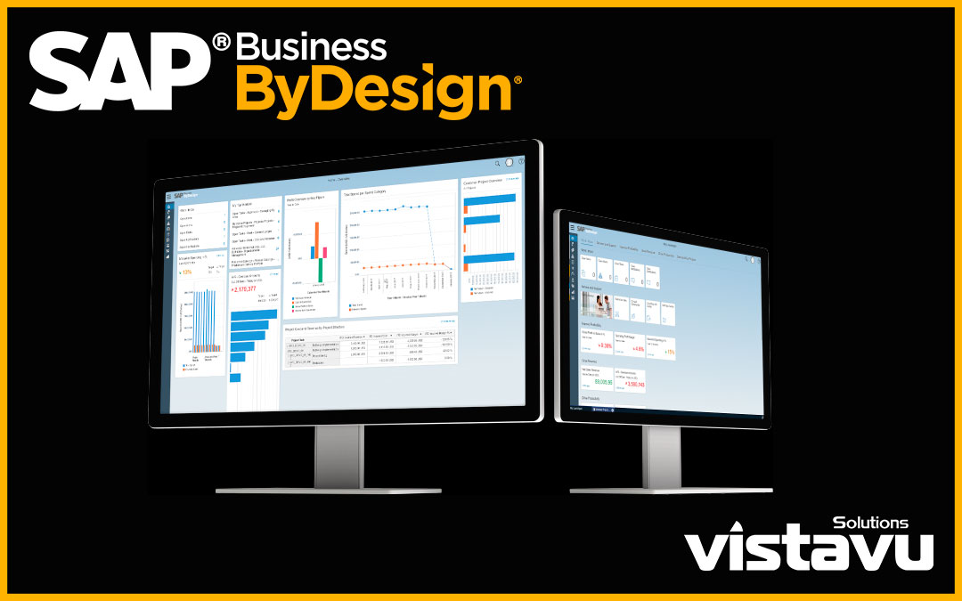 SAP Business ByDesign Product screens