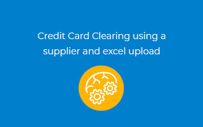 Credit Card Clearing image