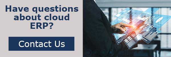 cloud ERP - contact us