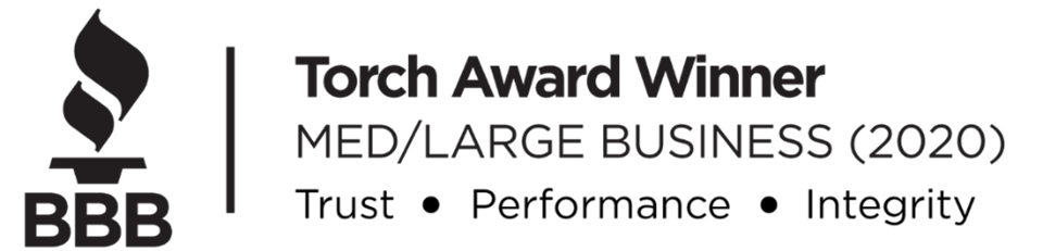 VistaVu Solutions Wins BBB Torch Award for Ethics 2020| Medium/Large Business