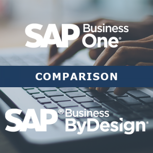 SAP Business One compared with SAP Business ByDesign