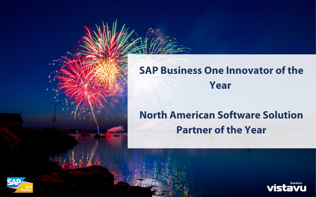 Achieve IT Solutions, a VistaVu Solutions Company, Recognized as SAP's Innovator of the Year & North American Software Solution Partner of the Year