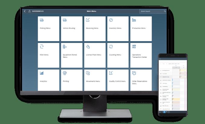 Resolv Mockup - Computer & Mobile - Warehouse Management