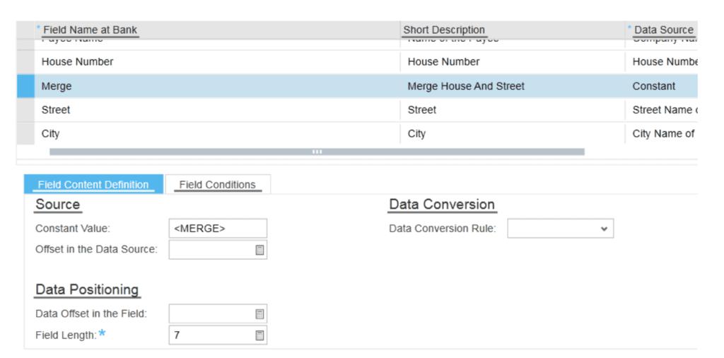 SAP ByDesign Bank File Details