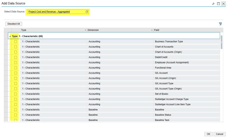 Add data source - SAP Business ByDesign