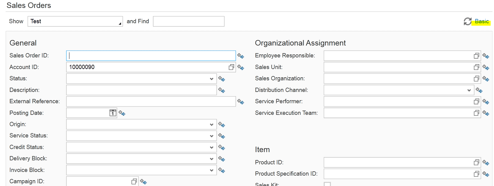 create queries in SAP ByDesign