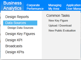 data sources sap business bydesign
