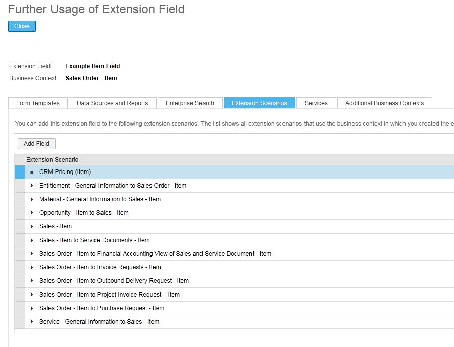 further usage - sap business bydesign